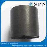 磁石によって焼結させる亜鉄酸塩異方性モーターリング