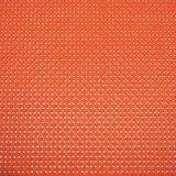 Matéria têxtil brilhante Placemat da cor contínua do vermelho 4X4 para o Tabletop