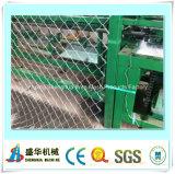 Frontière de sécurité automatique de maillon de chaîne des meilleurs prix faisant la machine (fil simple)