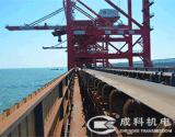 Transportes, transportes da manipulação material, sistema da correia transportadora