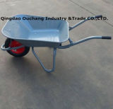 Горячее Sale Wheelbarrow с 65L Steel Tray