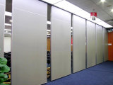 ホテルまたはホールまたは多目的ホールまたは多機能の会議室のための防音の操作可能な壁