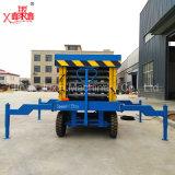 Plate-forme mobile utilisée extérieure de levage de ciseaux de roues élevées de la table élévatrice 4