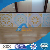 Azulejo laminado Board/PVC mineral acústico del techo del yeso de la fibra (S-yeso)