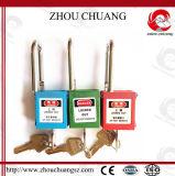 Cadeado vermelhos com grilhão de aço, 38mm do ABS da segurança de Xenoy