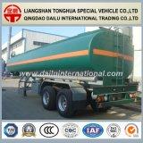 47cbm de réservoir de stockage de pétrole du carbone d'acier de pétrole/essence de camion-citerne remorque de camion semi