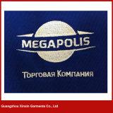 Da qualidade superior do OEM t-shirt 100% do polo do algodão do espaço em branco brandamente com teclas (P130)