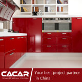 アメリカハナノキの葉の赤いプラスチック通風管PVC食器棚(CA09-01)