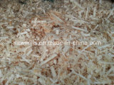 خشبيّة كاشط [شفينغس] مطحنة خشبيّة يحلق نشارة خشب آلة لأنّ [بدّينغ] حيوانيّ