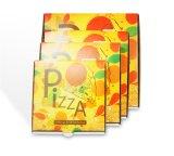 Fabricante impreso aduana del rectángulo de la pizza de la alta calidad