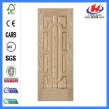 Portello interno modellato HDF/MDF dell'impiallacciatura di legno di abitudine (JHK-012)