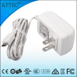 el adaptador estándar de la potencia de la conmutación 12W para enchufa el certificado de PSE