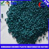 Grüne Farbe Masterbatches Tabletten gebildet vom Plastikpolyäthylen