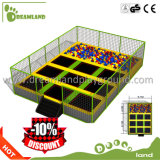 Parque de interior del trampolín de la diversión para el parque del trampolín de la seguridad de los cabritos de interior