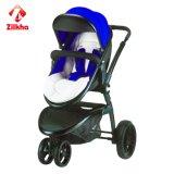 De Wandelwagen van de baby met Frame en Twee in