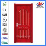 Porte en bois intérieure économique de PVC (JHK-P06)