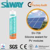 Vedador adesivo do silicone para os painéis solares
