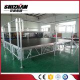 Etapa movible de aluminio modular de la altura ajustable