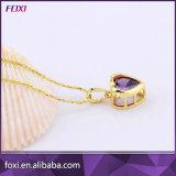 Jeux de fantaisie en gros de bijou de boucle d'oreille de collier de Wuzhou Foxi