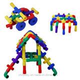 Деформированная волшебством игрушка строительных блоков трубопровода воспитательная