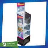 Étalage de détail de papier ondulé de carton de bruit de position de stand d'étage