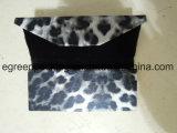 Triangle Folding / Foldable óculos de sol caso com moda PU couro (PZ12)