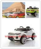 Brinquedo do veículo do carro elétrico de cor vermelha de vinho de land rover