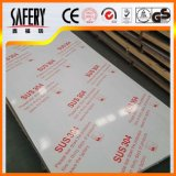 Usine bon marché de feuille d'acier inoxydable du fini 2b de solides solubles 304