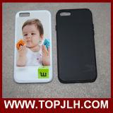 PC 2 do Sublimation TPU+ da impressão da transferência térmica em 1 caixa do telefone para o iPhone 6
