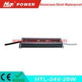PWM 기능 (HTL Serires)를 가진 24V20W 알루미늄 방수 LED 운전사