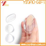 Ferramentas da composição do silicone, esponja da composição do silicone para o sopro de pó cosmético do misturador líquido da composição das fontes das senhoras da fundação (XY-SP-117)