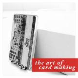 Bajos cuatro costo color PVC del color de Cmyk de la impresión en offset tarjeta plástica de la raya magnética