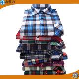 OEMの女性の方法は綿のブラウスのワイシャツの普段着のブラウスを越える