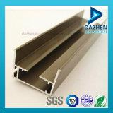 Fábrica personalizada ventana de la puerta de aluminio de extrusión de perfiles con diferentes colores