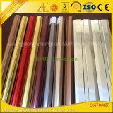 Grain de bois / poudre profil en aluminium enduit Frame Anti-Moustique Fenêtre
