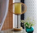 Lampe fabriquée à la main en bambou de lumière du relevé de Tableau de DEST pour la chambre à coucher à la maison