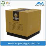 High End Square Retail Custom Logo Gift Set Cardboard Bespoke Perfume Box