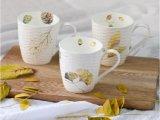 Crear la taza blanca impresa de la porcelana para requisitos particulares para el regalo