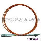 Дуплекс mm шнура заплаты стекловолокна LC/PC-LC/PC