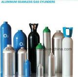 Tanques de alumínio médicos/industriais 0.5L-50L do cilindro de gás
