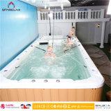 Luxurious Portable Swim SPA met het Gebied van de Massage van de Jacuzzi voor Familie