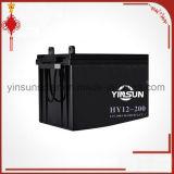 batterie fiable de qualité de 12V 200ah avec 12 mois de garantie