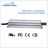 tensão programável ao ar livre da constante da fonte de alimentação do diodo emissor de luz de 120W 48V 0~2.5A