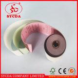 3ply 55g Rolos de papel autocopiativo Rolo de papel registrador