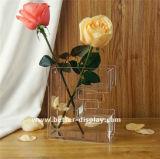 Vase en tube acrylique clair personnalisé