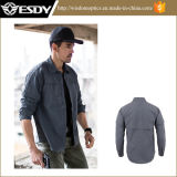 Рубашка Breathable Быстро-Засыхания Esdy Long-Sleeved для напольного