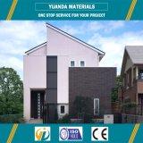 Casa modular del chalet personal prefabricado de la casa usar el sistema eléctrico solar