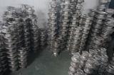 O aço inoxidável SUS304 de JIS 10k flangeou válvula de esfera manual de flutuação