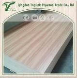 いろいろな種類木製のベニヤは合板シートのコマーシャルの合板に直面した