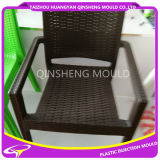 Molde plástico da cadeira do Rattan da injeção